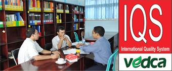 VEDCA-IQS lembaga Sertifikasi ISO 9001-2008 adalah lembaga di bawah